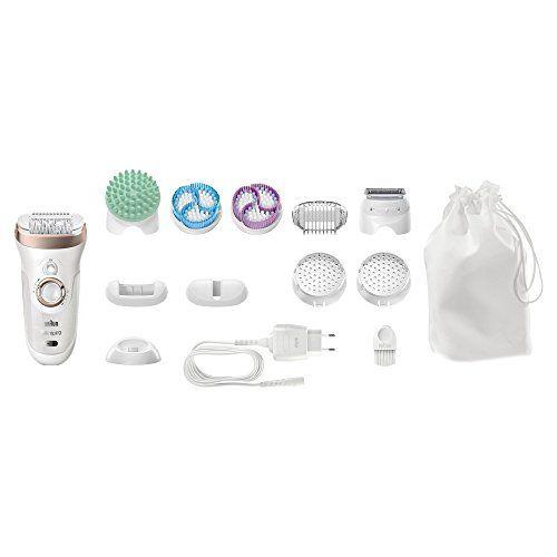 Braun Silk-épil 9 SkinSpa 9-961v - Sistema de exfoliación, cuidado