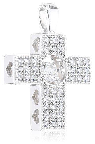 Diamonfire Pavé – Collar de plata de ley con circonita Diamonfire