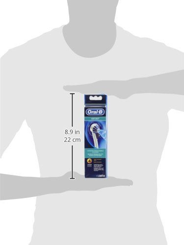 Oral-B Oxyjet – Cabezal de recambio para irrigador – 4 unidades
