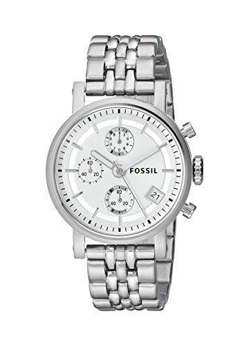Fossil ES2198 - Reloj analógico de cuarzo para mujer con correa de