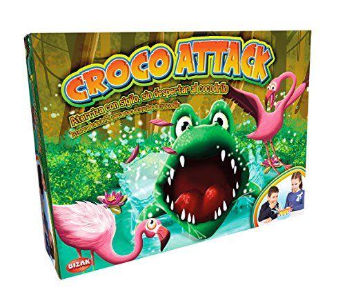 Bizak - Croco Attack, juego de habilidad (35001911)
