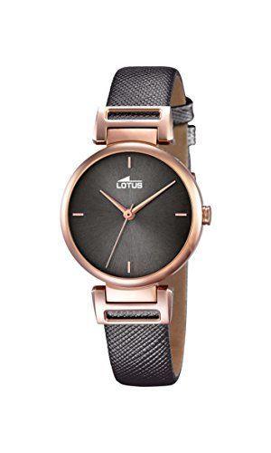 Lotus 18229/3 - Reloj de pulsera Mujer, Cuero, color Marrón