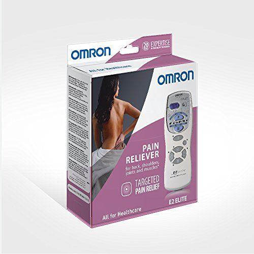 Omron Tens E2 Elite - Electroestimulador, color blanco
