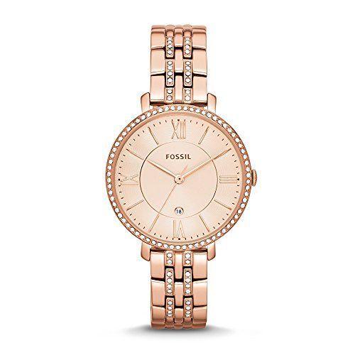 Fossil ES3546 – Reloj de pulsera para Mujer, oro rosa