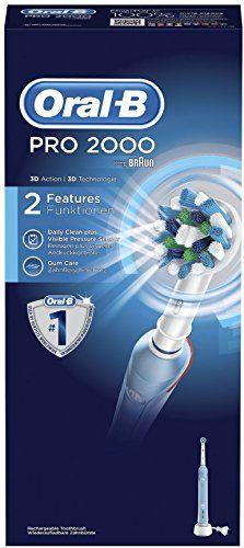Oral-B PRO 2000 CrossAction - Cepillo de dientes eléctrico con