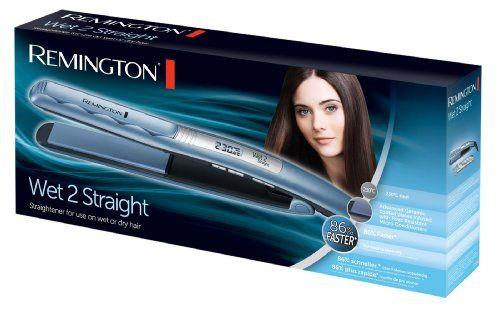 Remington Wet 2 Straight - Plancha de pelo, hasta 240º C, cerámica