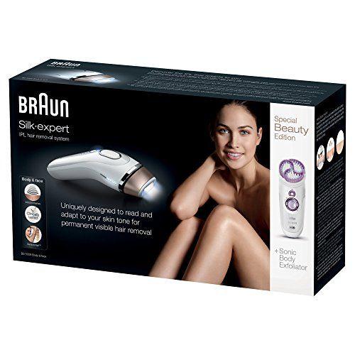 Braun Silk-expert IPL BD 5009 - Depiladora de luz pulsada para cara y