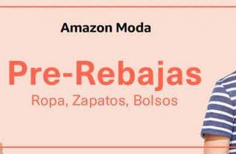 Rebajas Moda en Amazon