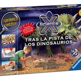 Ravensburger – Science X: tras la pista de los dinosaurios (18984 7)