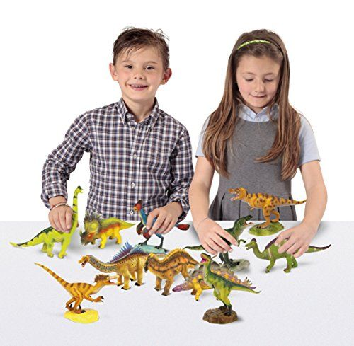 Geoworld - Velociraptor y Brachiosaurus, fguras (DeQUBE Trading S.L.