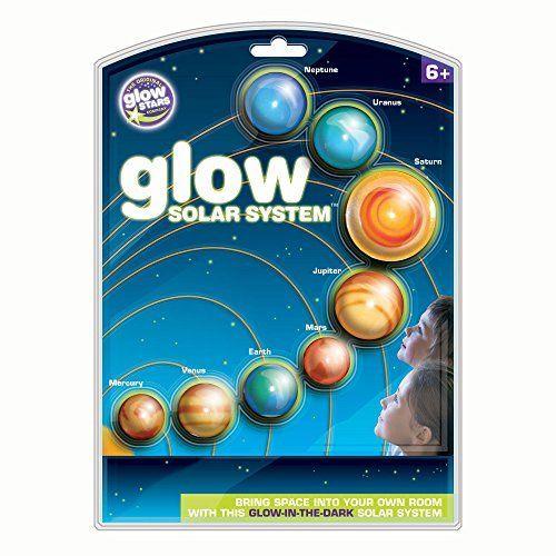 Brainstorm B8500 - The Original Glowstars Company, sistema solar que