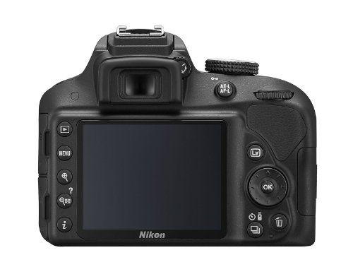 Nikon D3300 – Cámara réflex digital de 24.2 Mp (pantalla de 3″,