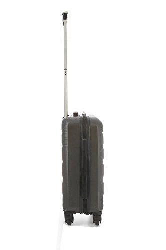 Aerolite ABS Maleta Equipaje de mano cabina rígida ligera con 4