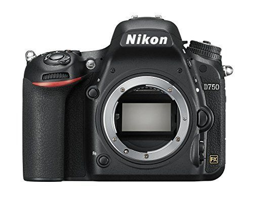 Nikon D750 – Cámara réflex digital de 24.3 Mp (pantalla 3.2″, vídeo