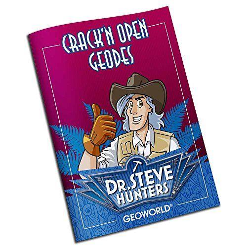 Geoworld – Crack'n Open Geodes, playset, 4 g (DeQUBE TRADING S.L.