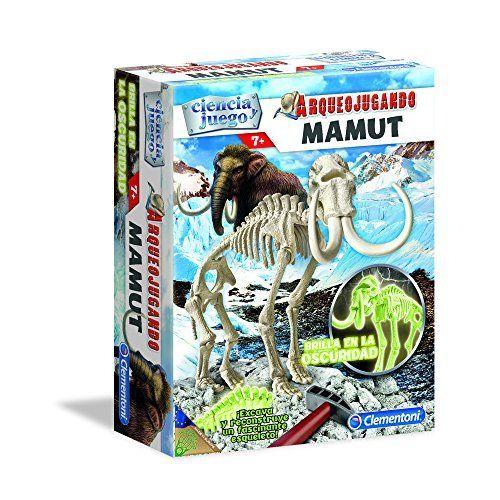 Ciencia y Juego - Arqueojugando Mamut fluorescente, juego educativo