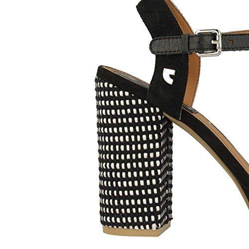 Sandalias y chanclas para mujer, color Negro , marca GIOSEPPO, modelo