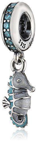 Pandora 791311MCZ - Abalorio de plata de ley con circonita