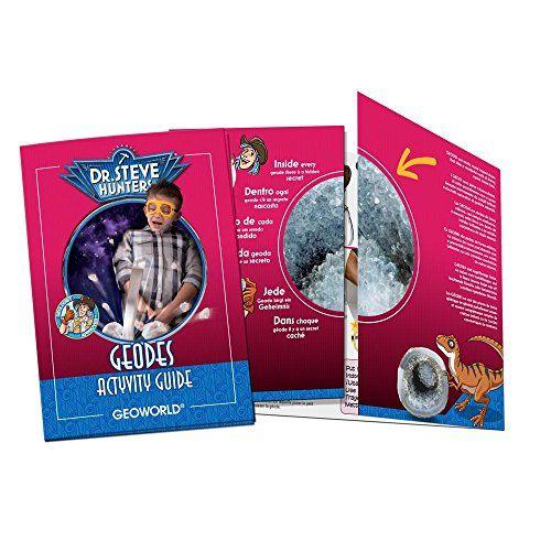 Geoworld - Crack'n Open Geodes, playset, 4 g (DeQUBE TRADING S.L.