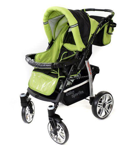 Baby Sportive – Sistema de viaje 3 en 1, silla de paseo, carrito con