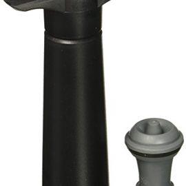 Vacu Vin - Wine saver, bomba de vacío, color negro