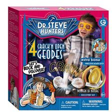 Geoworld – Crack'n Open Geodes Playset Juguetes educativos