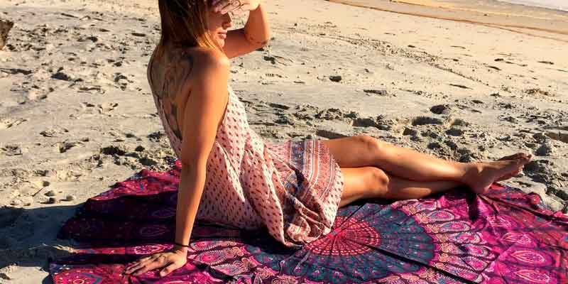 Toallas Redondas para la playa
