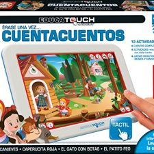 Educa Touch – Junior Érase una vez… cuentacuentos (15746) Juguetes electrónicos