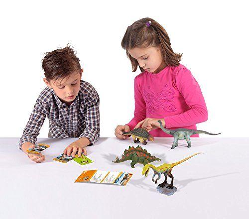 Geoworld - Triceratops Medium, figura articulada (DeQUBE Trading S.L.