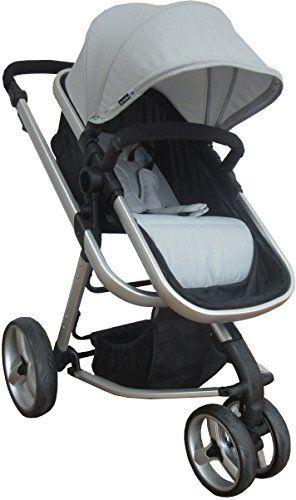 Star Ibaby Go Baby UP - Cochecito de bebe con silla, capazo y burbuja