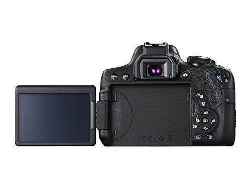Canon EOS 750D – Cámara réflex digital de 24.2 Mp (pantalla 3″,