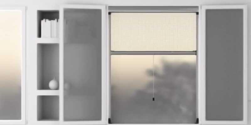 Mosquiteras para ventanas enrrollables