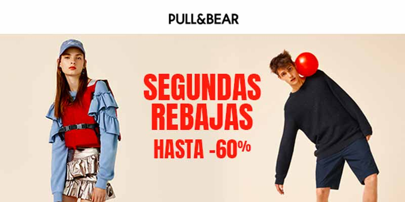 Segundas Rebajas en Pull and Bear