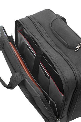 """Samsonite 927924 - Maletín con rueda portátil, 17.3"""", color negro"""