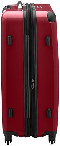 Hauptstadtkoffer - Maleta rígida con cierre TSA, color rojo, talla