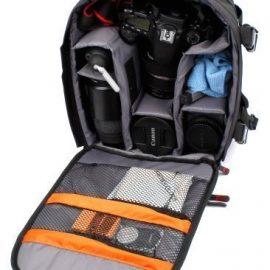 DURAGADGET Mochila Resistente Al Agua Para SLR & Digital SLR Cámaras