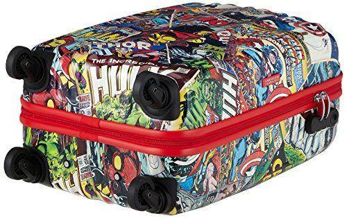 American Tourister Equipaje de Cabina, 55 cm, 32 L, Marvel Comics