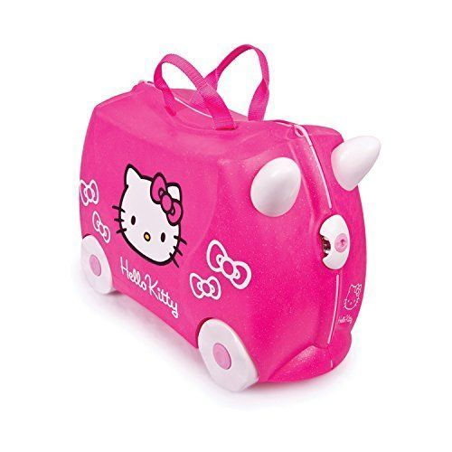 Trunki 0131-GB01 – Equipaje infantil Hello Kitty, 18 L, color rosa