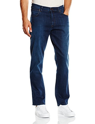 Wrangler Texas Stretch Classic Blues, Pantalones para Hombre, Classic Blues, W36/L30