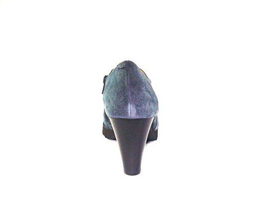 Gadea - Zapato cerrada tacón ante gris - talla - 41