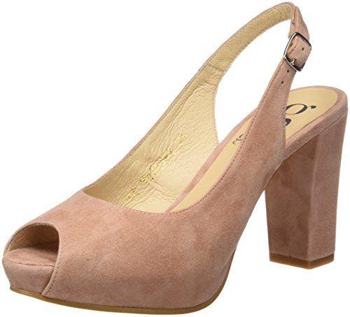 Gadea 40678, Zapatos de Tacón con Punta Abierta para Mujer