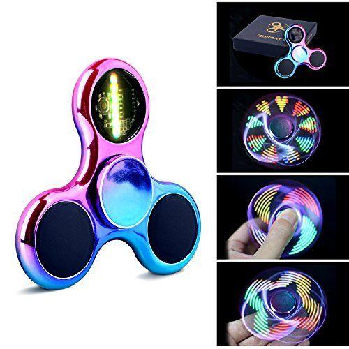 Hand Spinner Fidget Spinner Quimat LED-Leuchten Finger Spielzeug viele