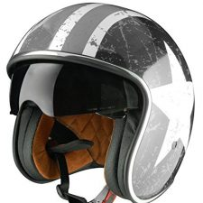 Origine Helmets – Sprint Rebel Star Casco Abierta Ropa para motoristas