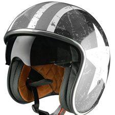 Origine Helmets –Sprint Rebel Star Casco Abierta Ropa para motoristas