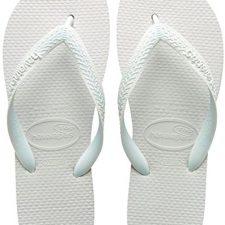 Havaianas Top, Chanclas Unisex Adulto, Blanco (White 0001), 39/40 EU Chanclas Havaianas