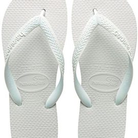 Havaianas Top, Chanclas Unisex Adulto, Blanco (White 0001), 39/40 EU