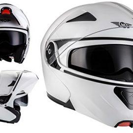 MOTO HELMETS F19 Sport Casco da Motocicleta Modulare Integrale Scooter