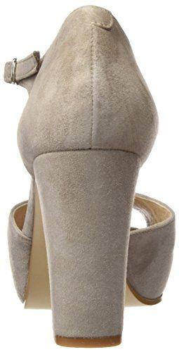 Gadea 40677, Zapatos de Tacón con Punta Abierta para Mujer