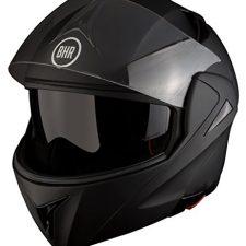 BHR 50127 Casco Modular, Color Negro Mate, Ropa para motoristas