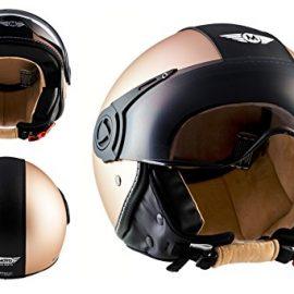 MOTO HELMETS H44 Helmet Casco Demi-Jet Bobber Moto Motocicleta Urban